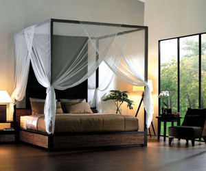bed canopy curtains, poster bed, and canopy bed curtains image