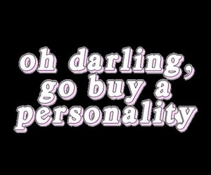 personality and darling image