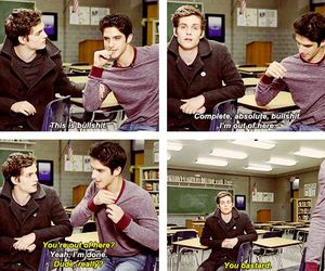 teen wolf, tyler posey, and funny image