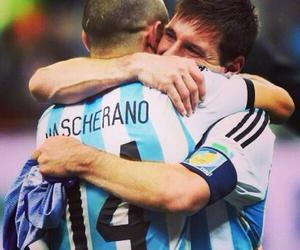 argentina, carajo, and messi image