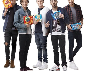 1d, harrystyles, and louistomlinson image
