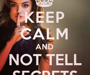 pretty little liars, pll, and secret image