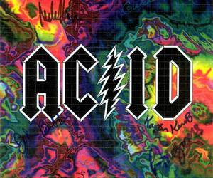 ACDC, colores, and acid image