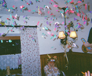 party, grunge, and vintage image