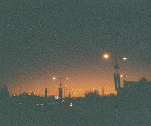 light, city, and vintage image