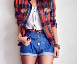 outfit, summer, and casual image