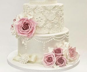 cake, food, and pearl image