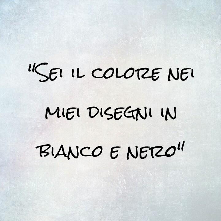 Sei Il Colore Nei Miei Disegni In Bianco E Nero