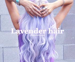 gorgeous, lavender, and lavender hair image