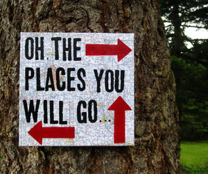 quote, sign, and tree image