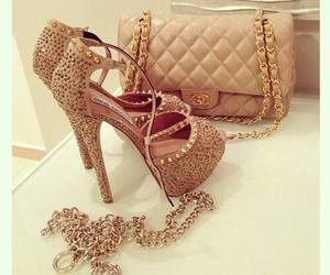 shoes, bag, and chanel image