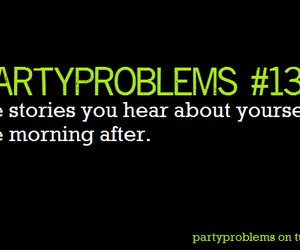 drunk, party, and problem image