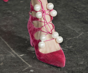 beads, heels, and pink image