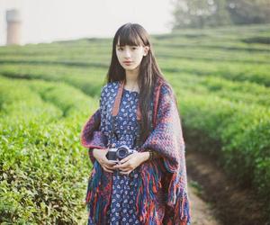 asian girls, dress, and photo image
