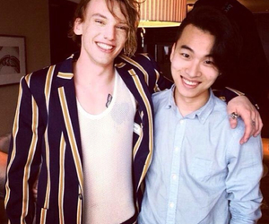Hot, Jamie Campbell Bower, and model image