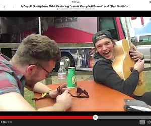 Jamie Campbell Bower, smiles, and dan smith image