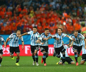 argentina and football image
