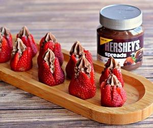 chocolate, food, and hershey's image