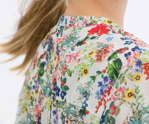 blouse, girl, and flowers patterns image