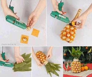 diy, pineapple, and ananas image