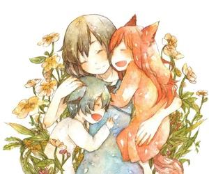 anime, ame, and yuki image