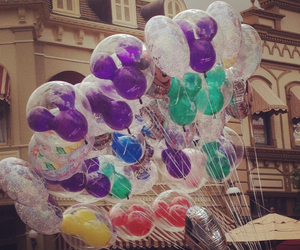 balloons, disney, and ears image
