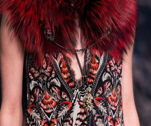 elegant, fashion, and fur image