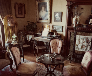 antiques, interior, and vintage image
