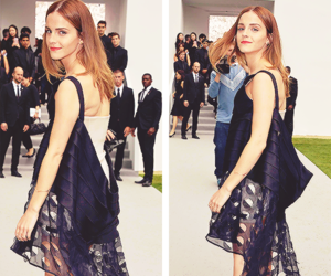 emma watson and fashion image