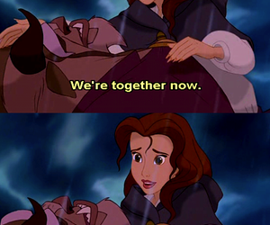 beauty and the beast, disney, and beauty image