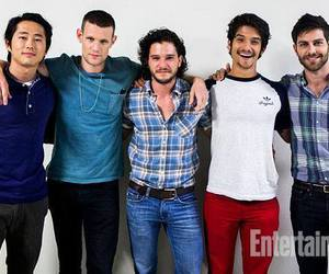 teen wolf, tyler posey, and matt smith image