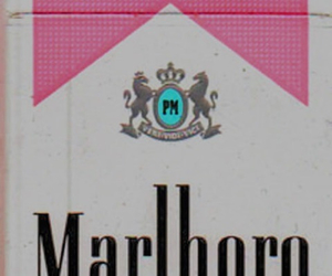 cigarette, marlboro, and pink image