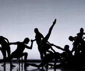 danse, gris, and ombre image