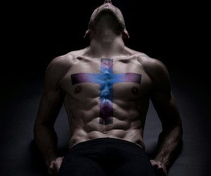 blue, colour, and male model image