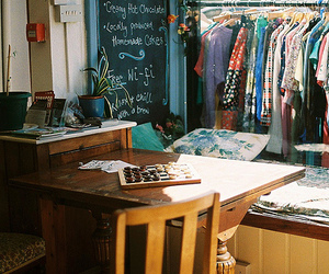 clothes, photography, and table image