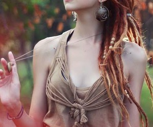 dreads, hair, and photography image