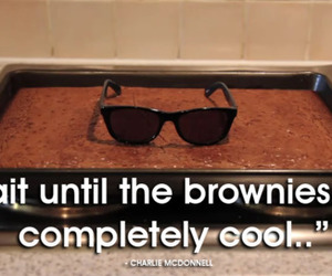brownies, cool, and funny image