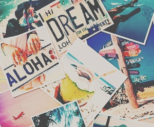 summer, Dream, and Aloha image