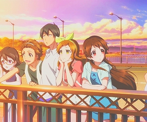 anime, summer, and friends image
