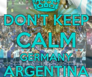 alemania, argentina, and cup image