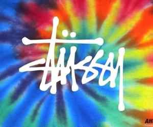 stussy and tie dye image
