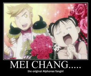 fma, alphonse elric, and mei chang image