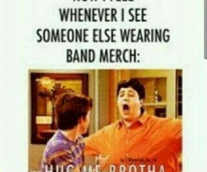 band, band merch, and fandom image