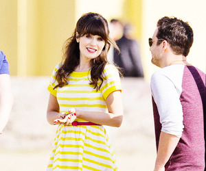 zooey deschanel, new girl, and jake johnson image