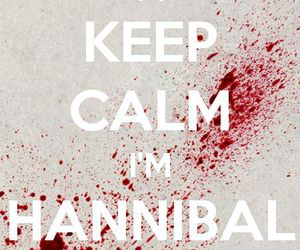 cannibal, keep calm, and are you hungry image