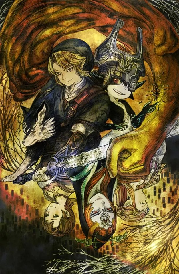The Perfect Twilight Princess Fanart On We Heart It