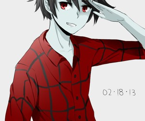 marshall lee, adventure time, and anime image