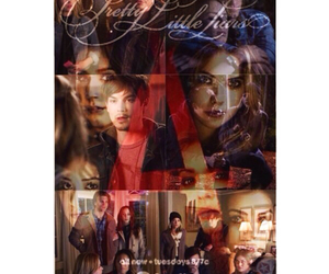 pretty little liars, haleb, and pll100thepisode image