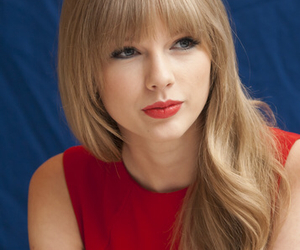 2012, bangs, and blue background image