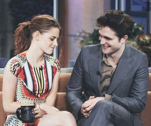 kristen stewart, robert pattinson, and Robsten image